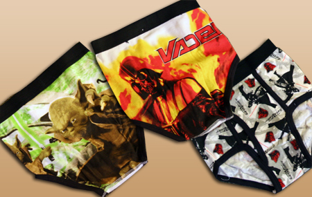 boys star wars underwear